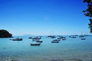 Bucht an der Costa Verde