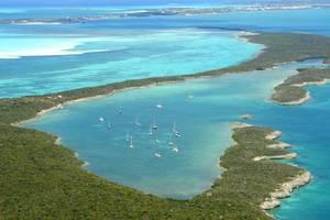 Bucht auf Royal Island