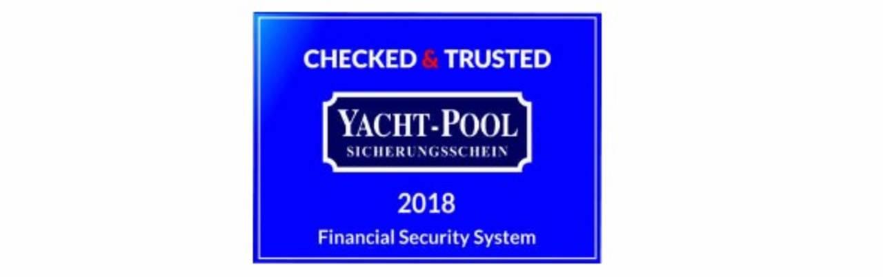 Bei uns bekommen Sie bei jeder Buchung einen Sicherungsschein von Yacht-Pool