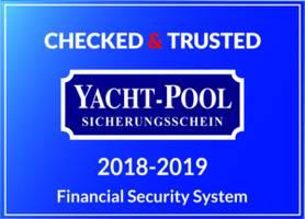 Das YACHT-POOL Chartersiegel signalisiert ein deutliches Qualitätsmerkmal für Charterunternehmen
