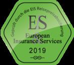 Geprüft durch die EIS Reisepreisabssicherung